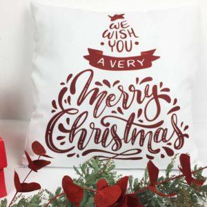 cojin merry christmas